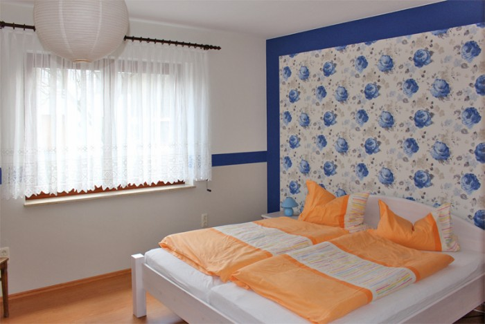 Schlafzimmer in der Fewo